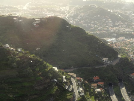 Funchal, Madeira from Cabo Girao