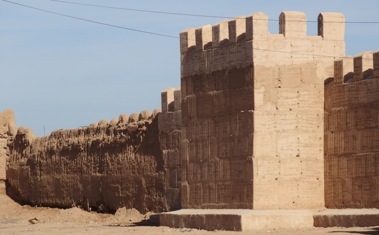10a.  Taroudant, Morocco (walls from restaurant)