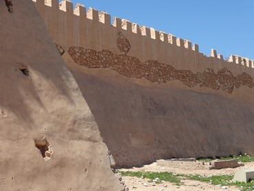118.  Camels & Walls at Agadir old Casbah, Morocco