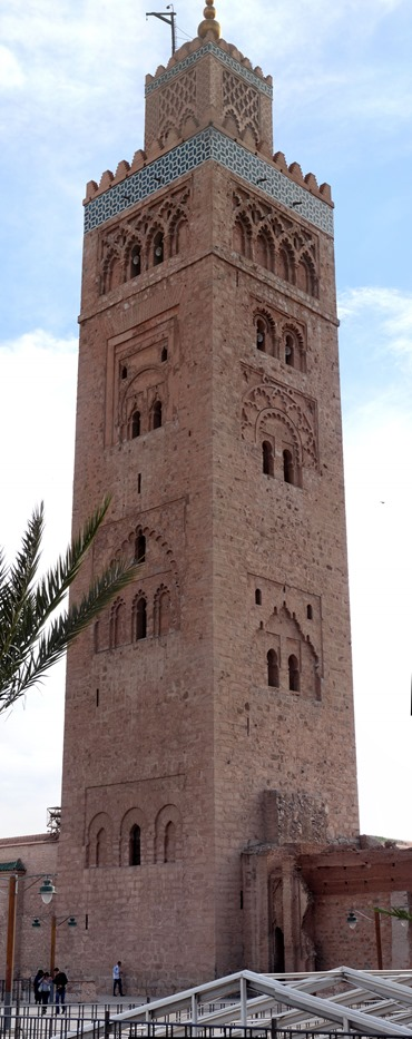 144a. Marrakesh_Minaret stitch