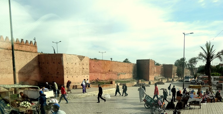 163a. Marrakesh city walls