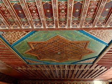 22a. Marrakesh hotel ceiling