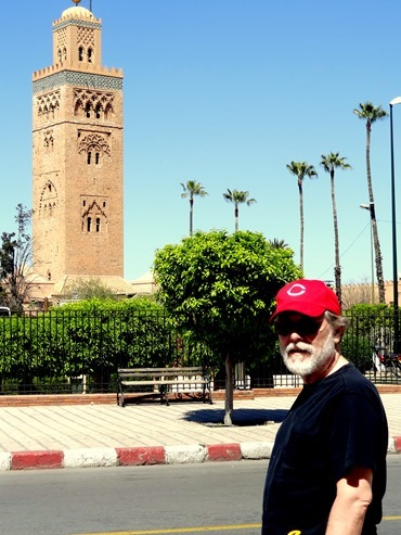 24a. Marrakesh Rick at Koutoubia Minaret