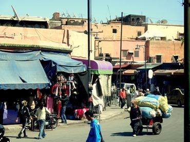 32a. Marrakesh street scene