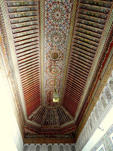 66a. Marrakesh Bahia ceiling