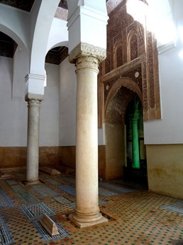 84a. Marrakesh Saadian tombs