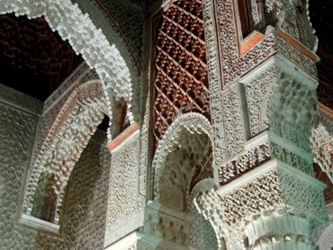 94a. Marrakesh Saadian tombs