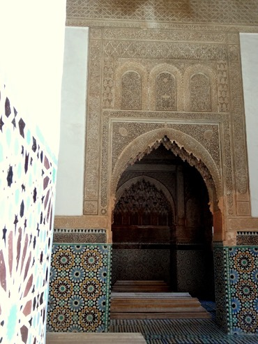 96a. Marrakesh Saadian womens' tomb