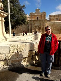117. Malta Mdina