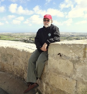 134a. Malta Mdina Rick on wall cropped