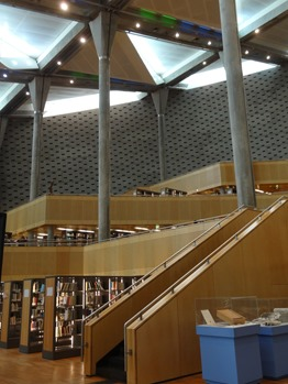148. Alexandria library