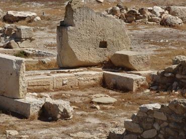 17. Larnaka Kition temples