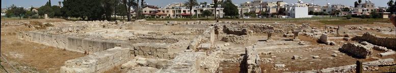 18. Larnaka Kition temples