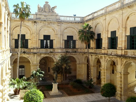196. Malta Valleta Grand Master's Palace