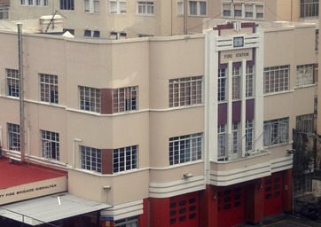 24a. Gibralter fire station