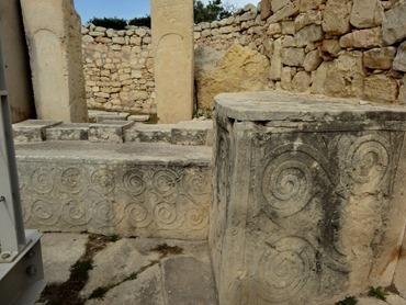 253. Malta Tarxien Temples