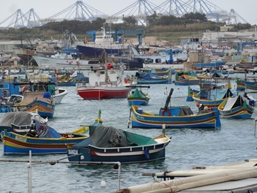 273. Malta Maxxlocks harbor & fishing boats