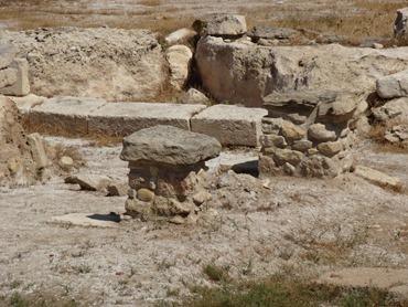 36. Larnaka Kition temples