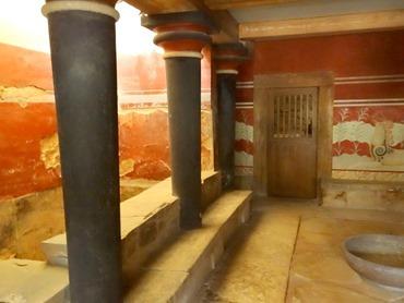37. Iraklion Crete, Knossos Palace