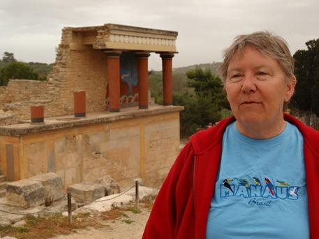 42. Iraklion Crete, Knossos Palace