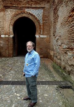 45a. Alhambra, Granada Rick inside Gate of Justice