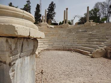 50. Alexandria Roman Theater
