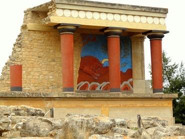 50. Iraklion Crete, Knossos Palace