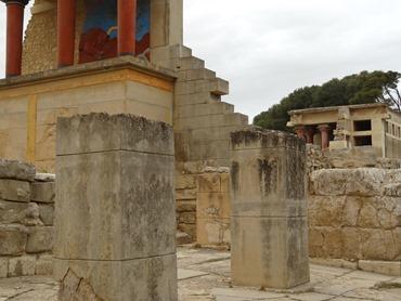 59. Iraklion Crete, Knossos Palace