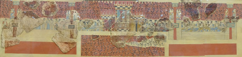 90a. Iraklion, Crete Archeology Museum panorama