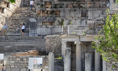 176a. Ephesus Fountain by steps to Theater