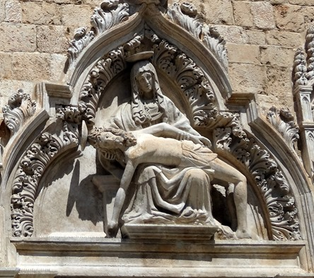 207a. Monastery Pieta relief