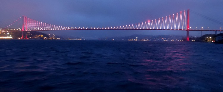 226. Istanbul Bosphorus Cruise 4-15