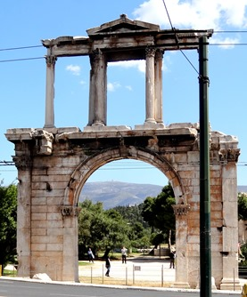 269. Athens Hadrian's Arch