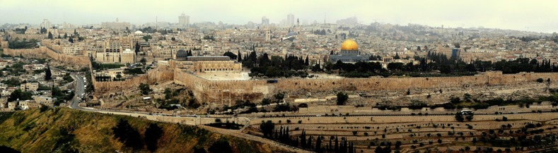 277. Jerusalem_panorama temple mount
