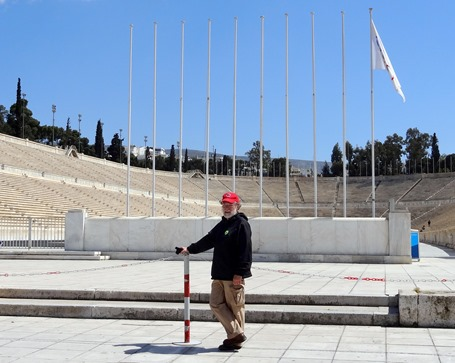 286. Athens Rick at Olympic Stadium