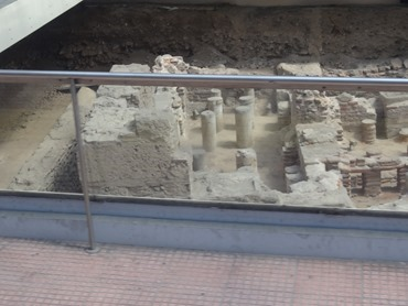 296. Athens Roman Era Excavtion in Street