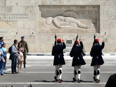 300. Athens Changing of Guard at Parliament