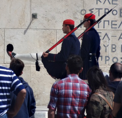 304. Athens Changing of Guard at Parliament