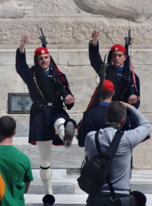 307. Athens Changing of Guard at Parliament