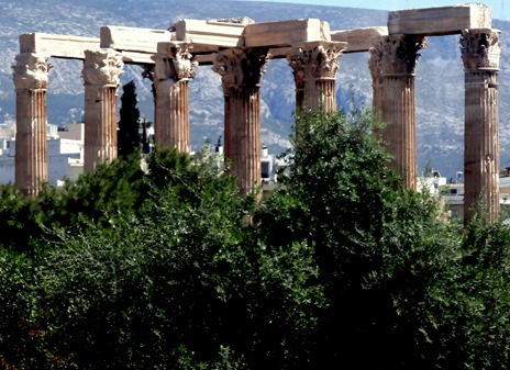 324. Athens Temple of Olympian Zeus