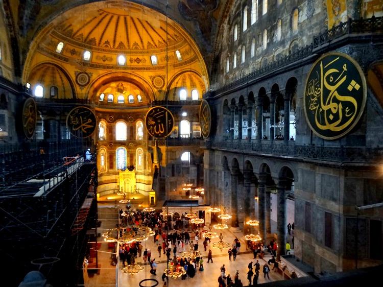 460. Istanbul Hagia Sophia 4-16