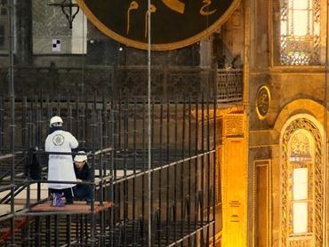 463. Istanbul Hagia Sophia 4-16