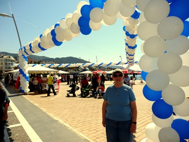 61. Marmaris Mary at festival for 168th anniversary of police force