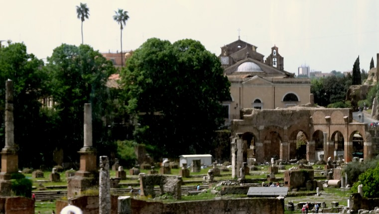 98. Basilica Julia (civil courts). Rome