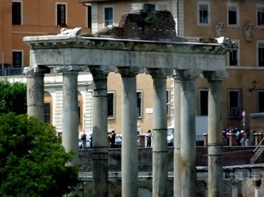 99. Temple of Saturn. Rome