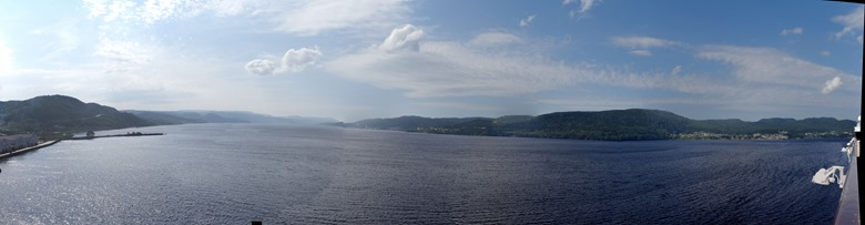 117.  Corner Brook, Newfoundland (bay panorama) 7-15-2014