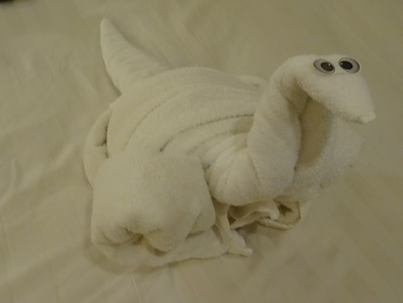 190.  Towel animal