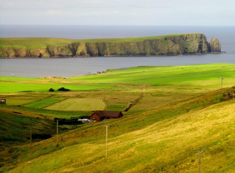 017.  Lerwick, Shetland Islands
