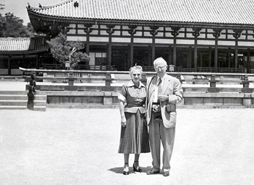 Arthur & Freda Bleich in Kyoto, Japan