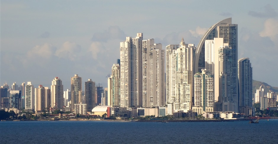 98. Panama City in late afternoon